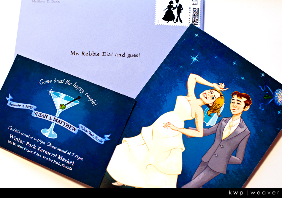 Matt and Susans Custom Invitation | weddings  | Photography