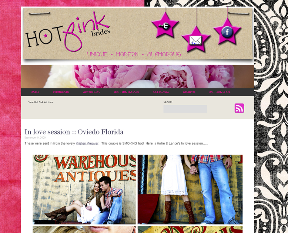 hotpinkbrides screenshot