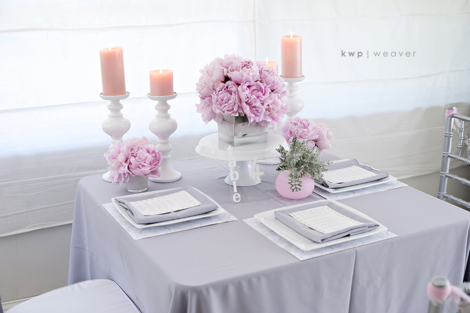 Style Me Pretty Pink And Gray Modern Romance Orlando