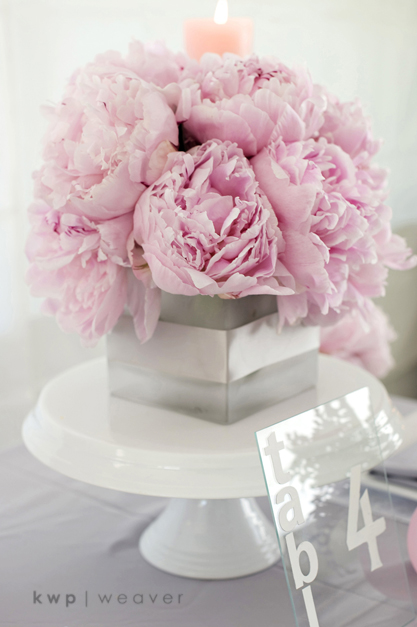 Style Me Pretty: Pink and Gray Modern Romance | weddings press bridal  | Photography