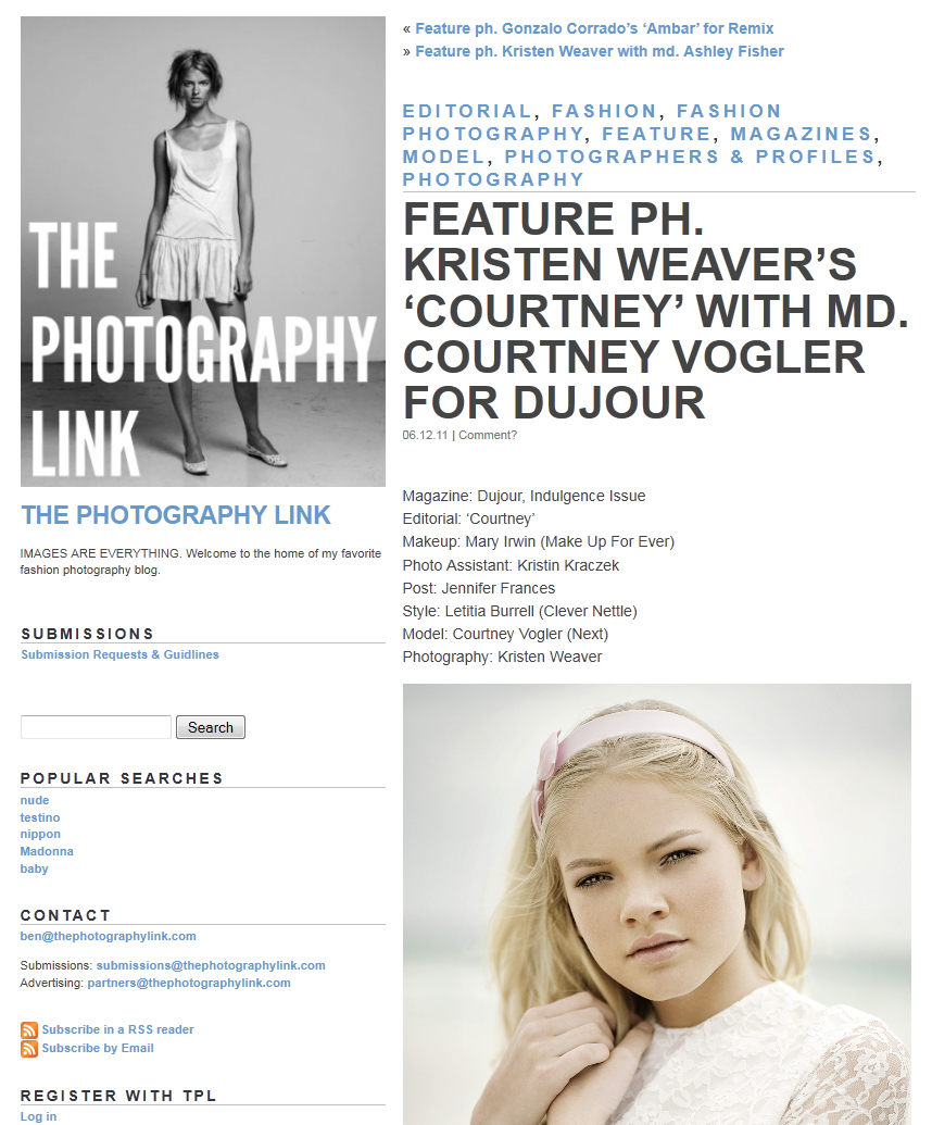 Recent Press | press  | Photography