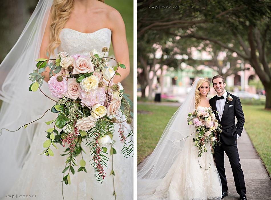 Large bridal bouquet by Botanica
