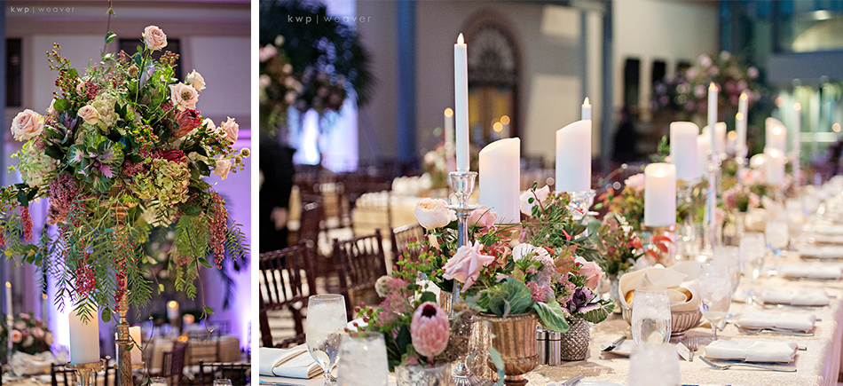 Kings table for bridal party