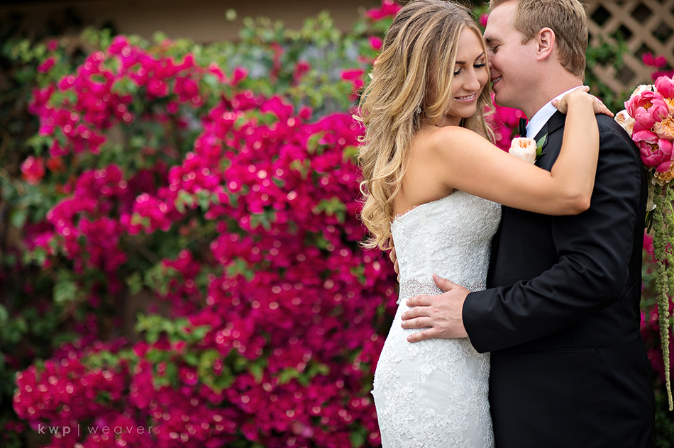 Bride and groom formal photography