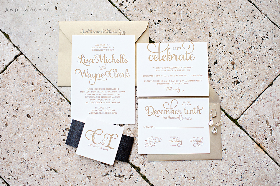 Jupiter & Juno wedding invitations