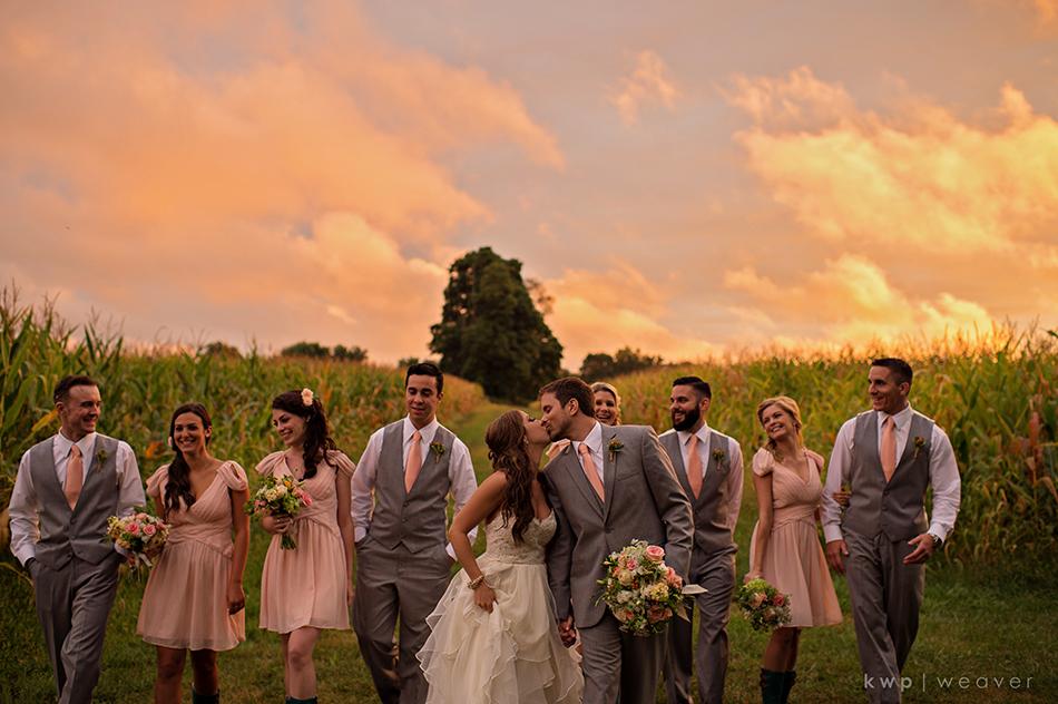 Sunset Farm Bridal Party