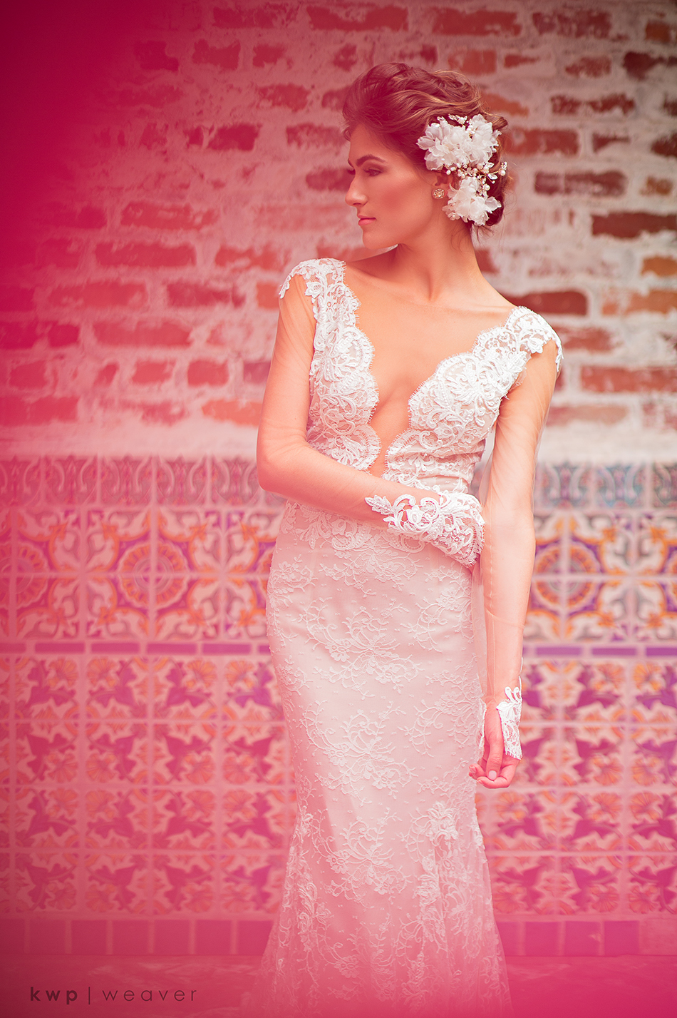 Bridal gown by Ines di Santo