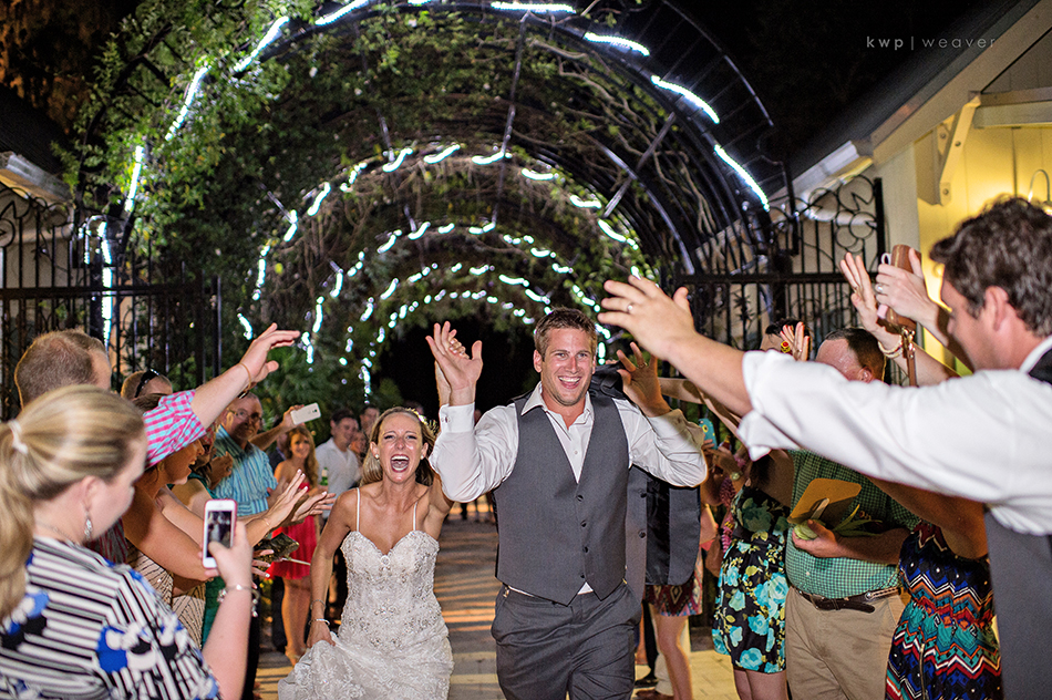 wedding exit pictures