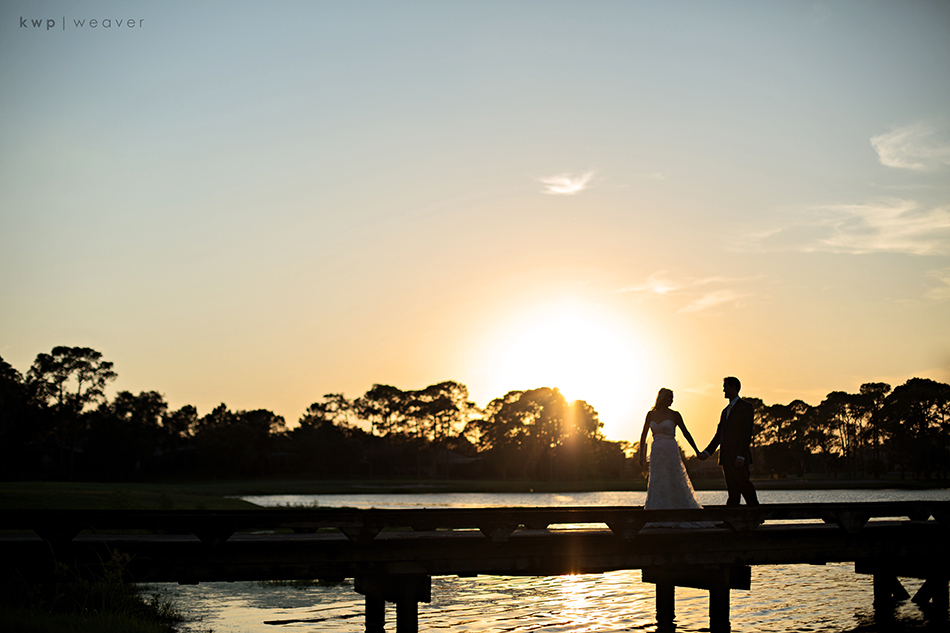 Dock Sunset Couple