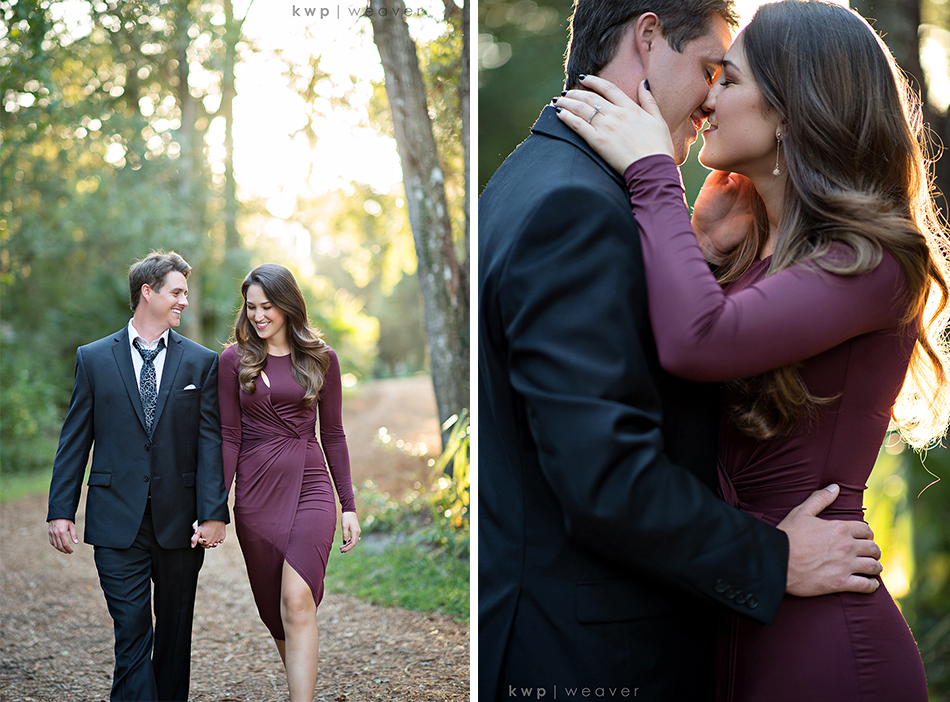 formal mead garden engagement