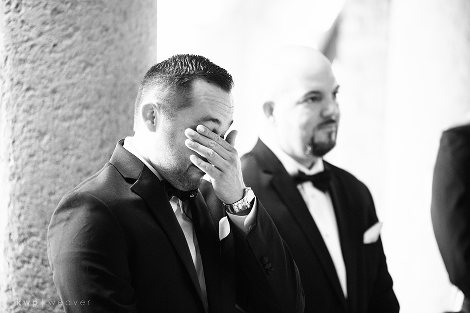 Emotional Groom