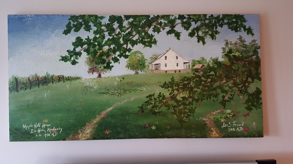 Lee Forrest painting