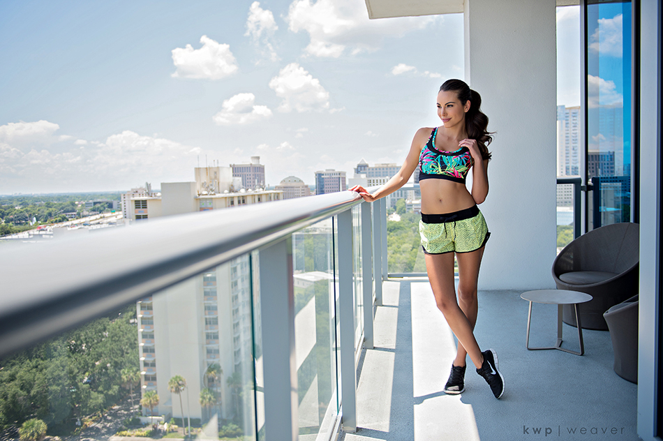 melanie pace workout styling