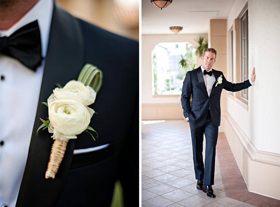 wedding boutineer