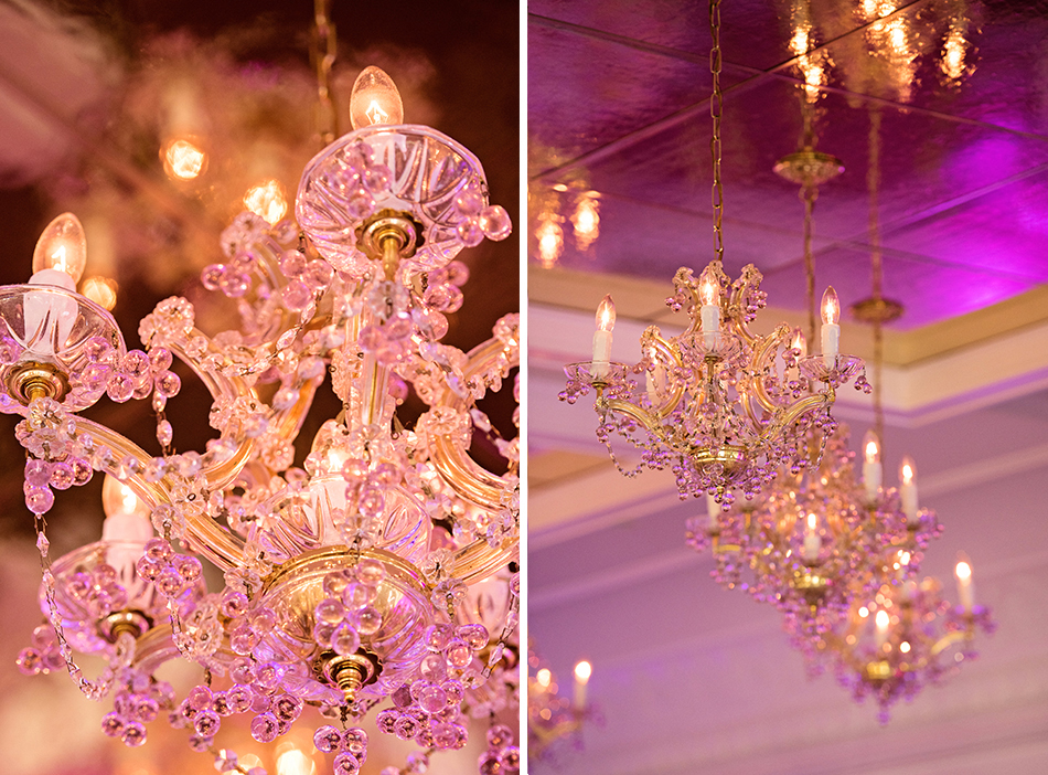chandelier wedding
