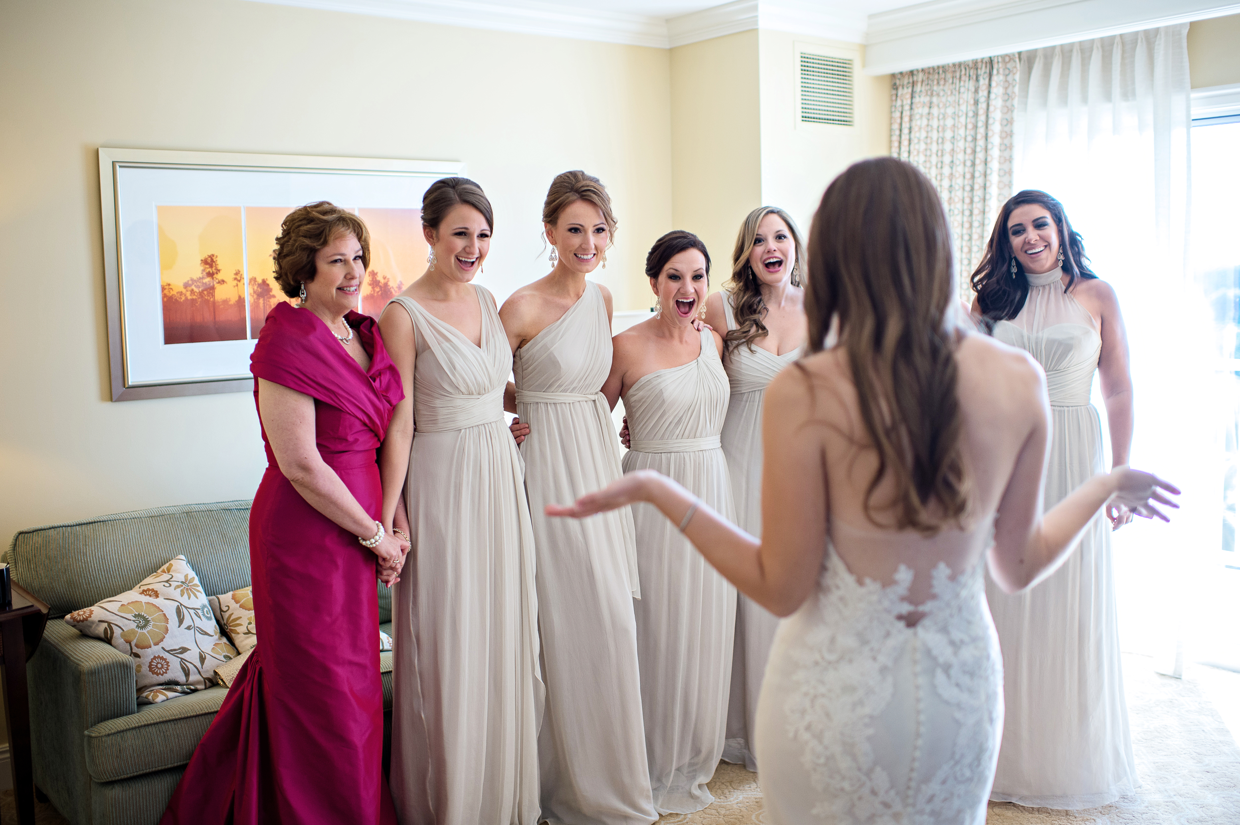 bridesmaids first reaction