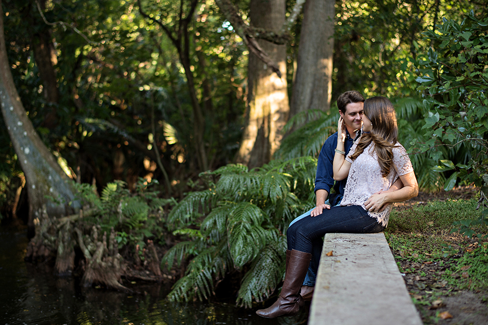 mead gardens engagement ashley and jamie orlando