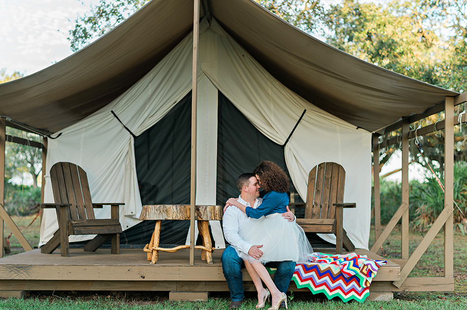 glamping photography