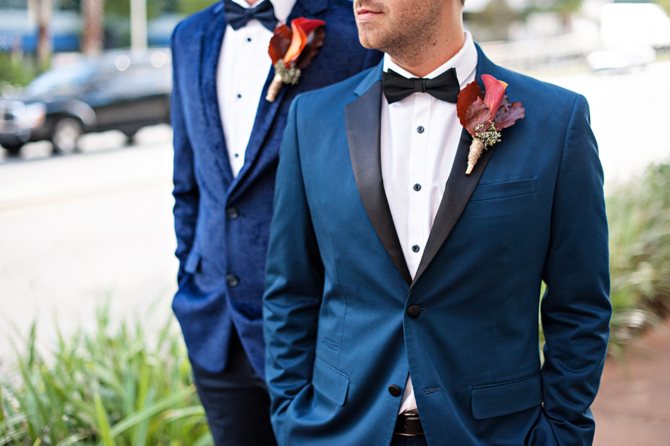 maroon and navy wedding