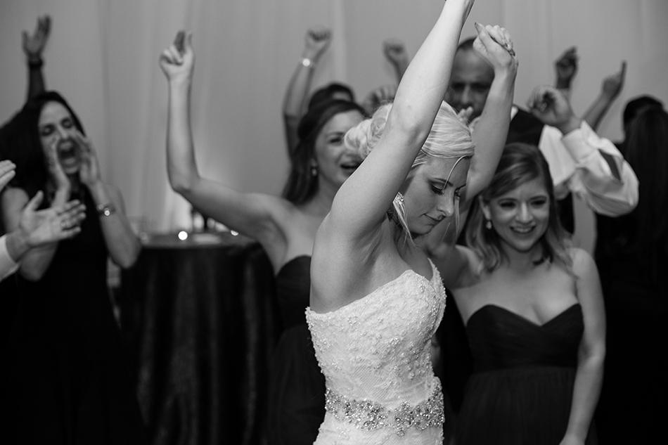 bride reception dancing