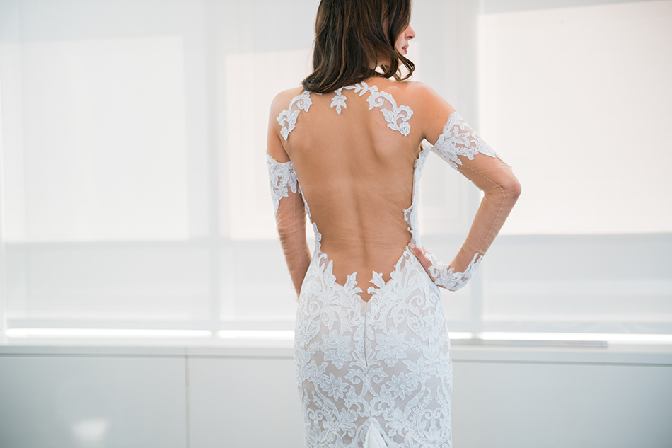 ines di santo gown detail