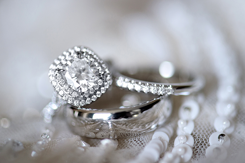 gorgeous engagement ring shot
