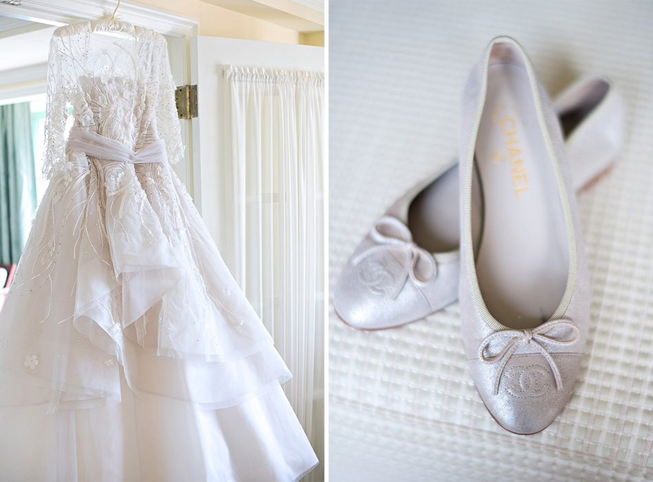 chanel bridal shoes