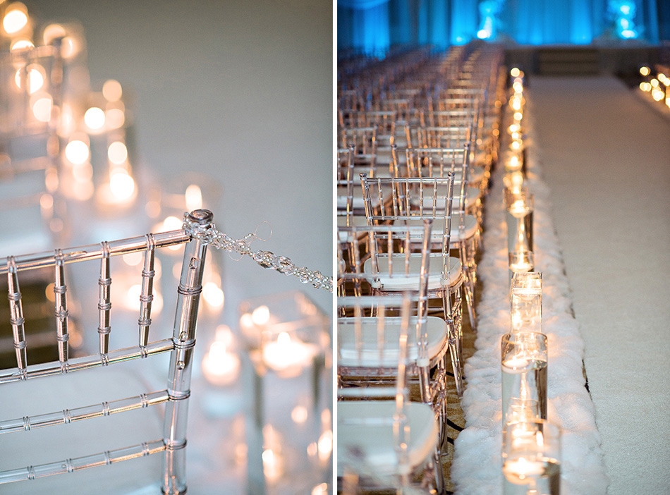 winter wonderland ceremony space