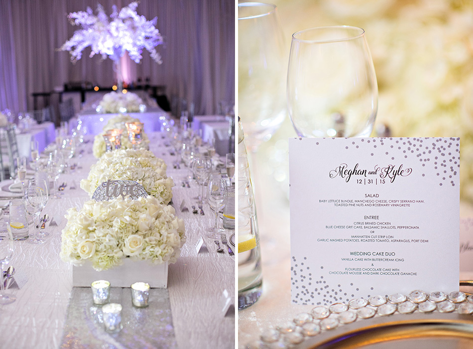 glamorous reception space