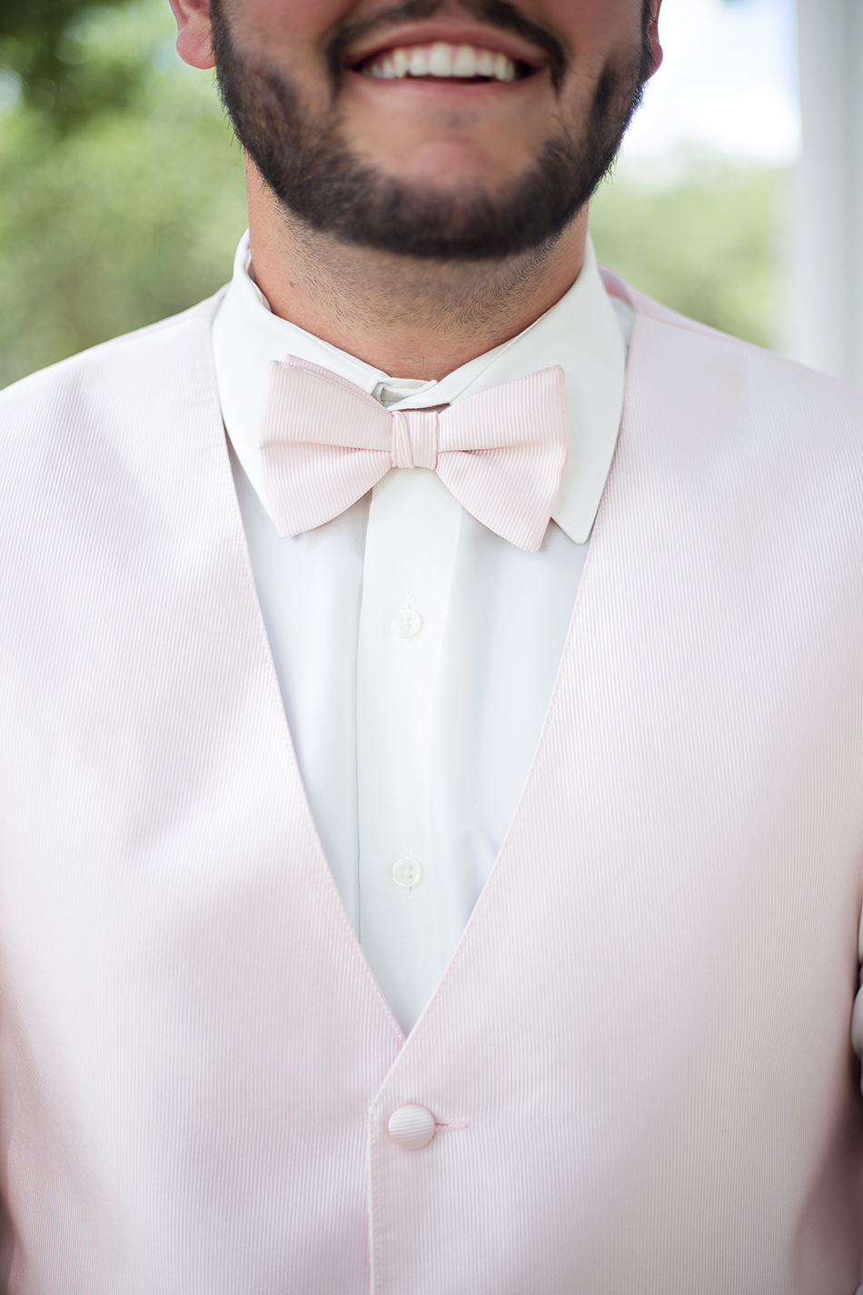 groomsman attire light pink