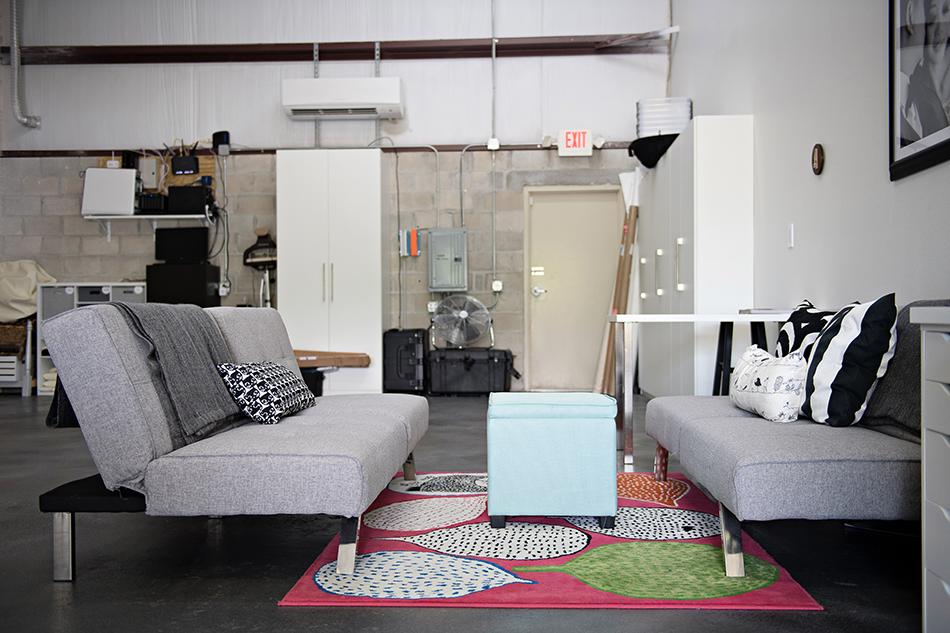 photography studio style decor