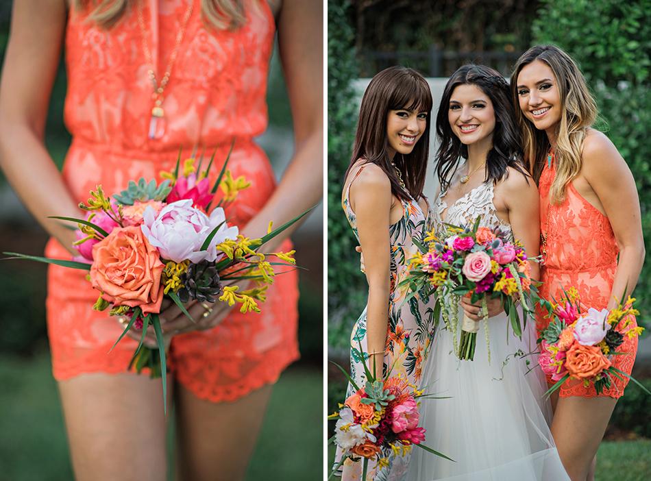 modern bridesmaid photography