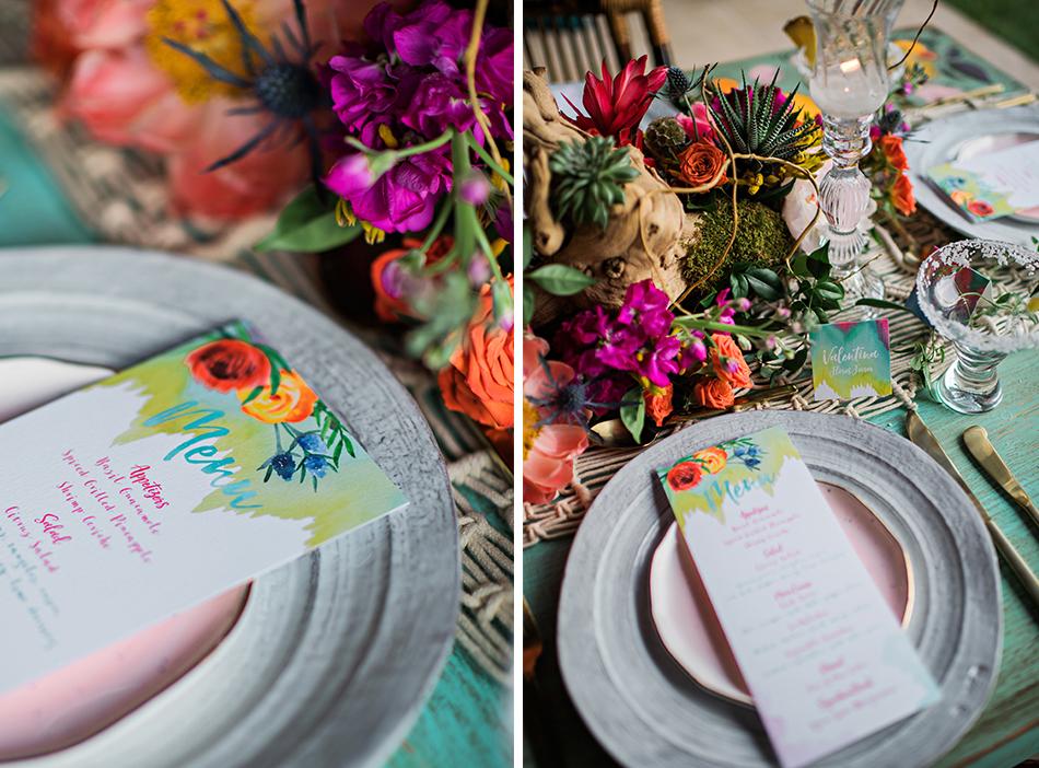 bright mexican wedding