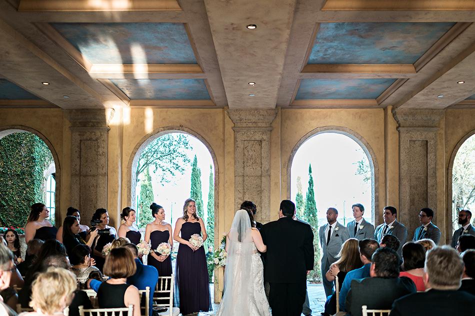 outdoor orlando wedding ceremony