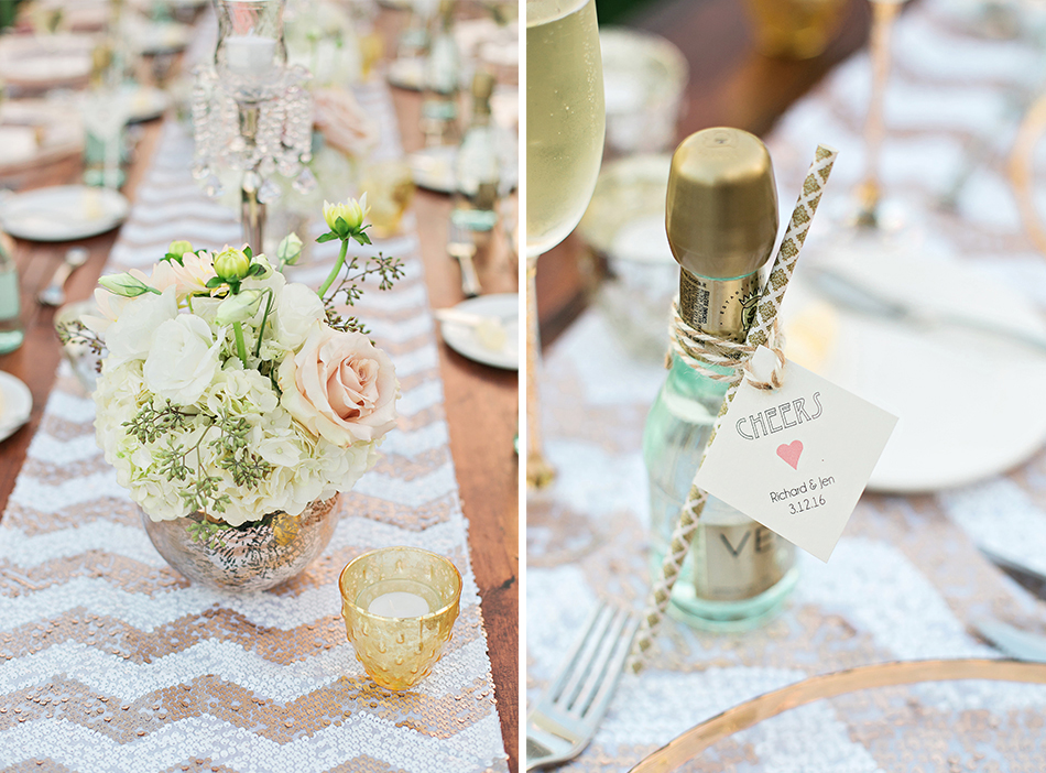 wedding champagne gift