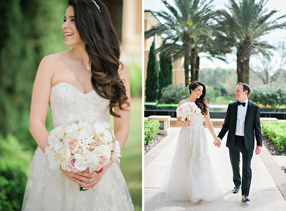 outdoor bride and groom photography