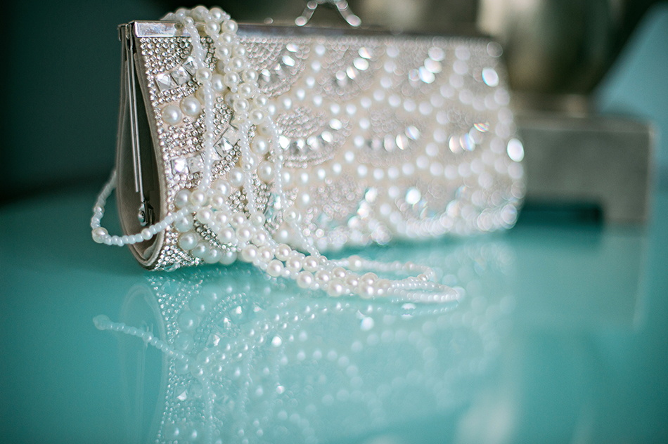 glamorous bridal details