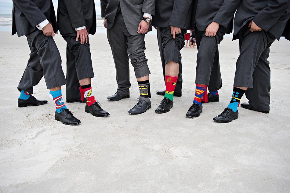 unique groomsmen socks