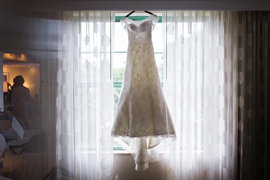 Augusta Jones wedding gown