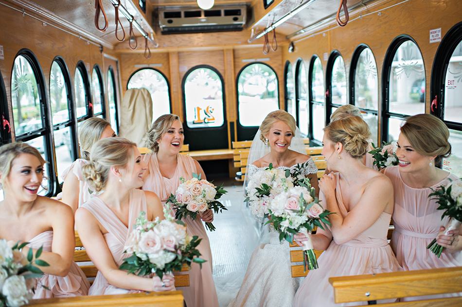 fun wedding transportation