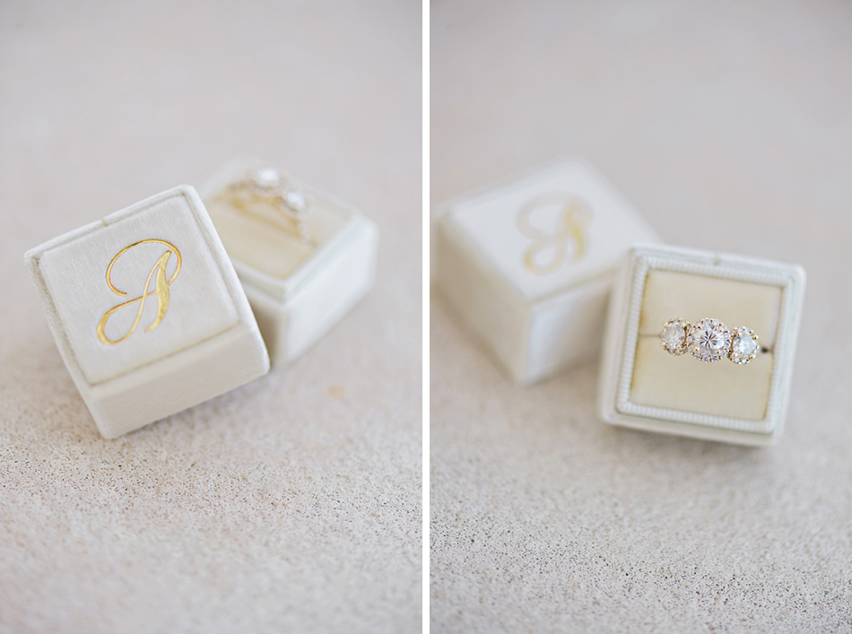 Ivory the Mrs. Box with monogram