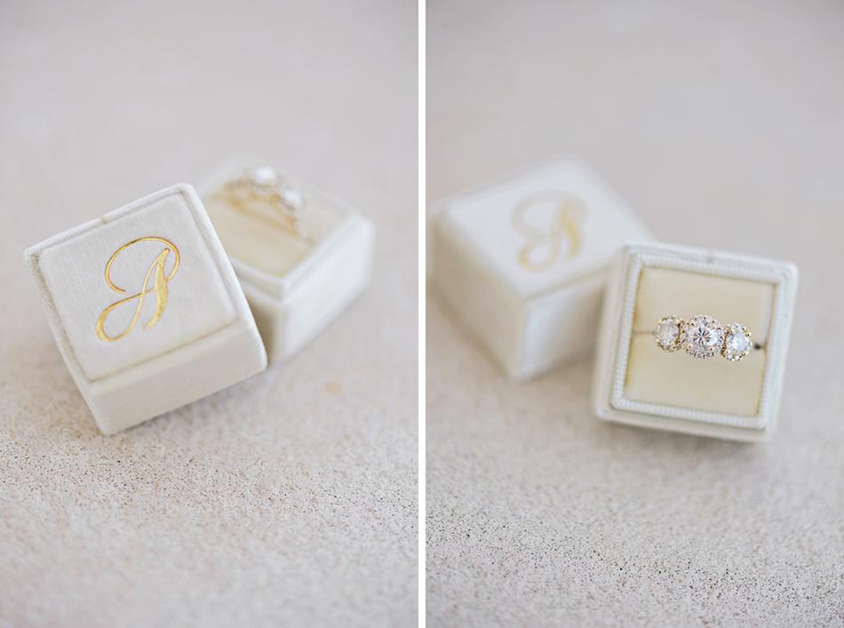 Ivory the Mrs. Box with monogram