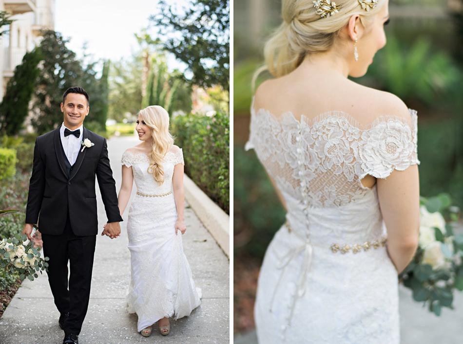 Anna Maier wedding dress. Sleeve wedding dress