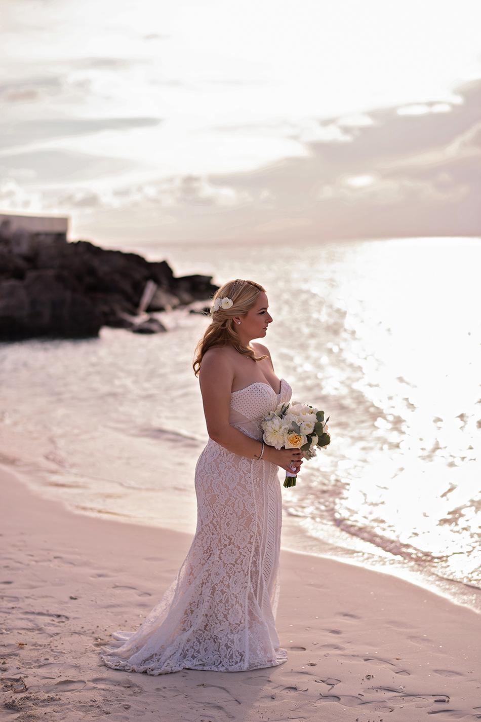 Bimini Bahamas bridal portraits