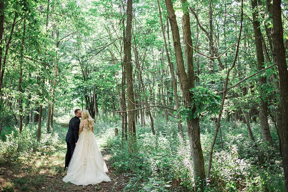 Destination wedding in upstate NY
