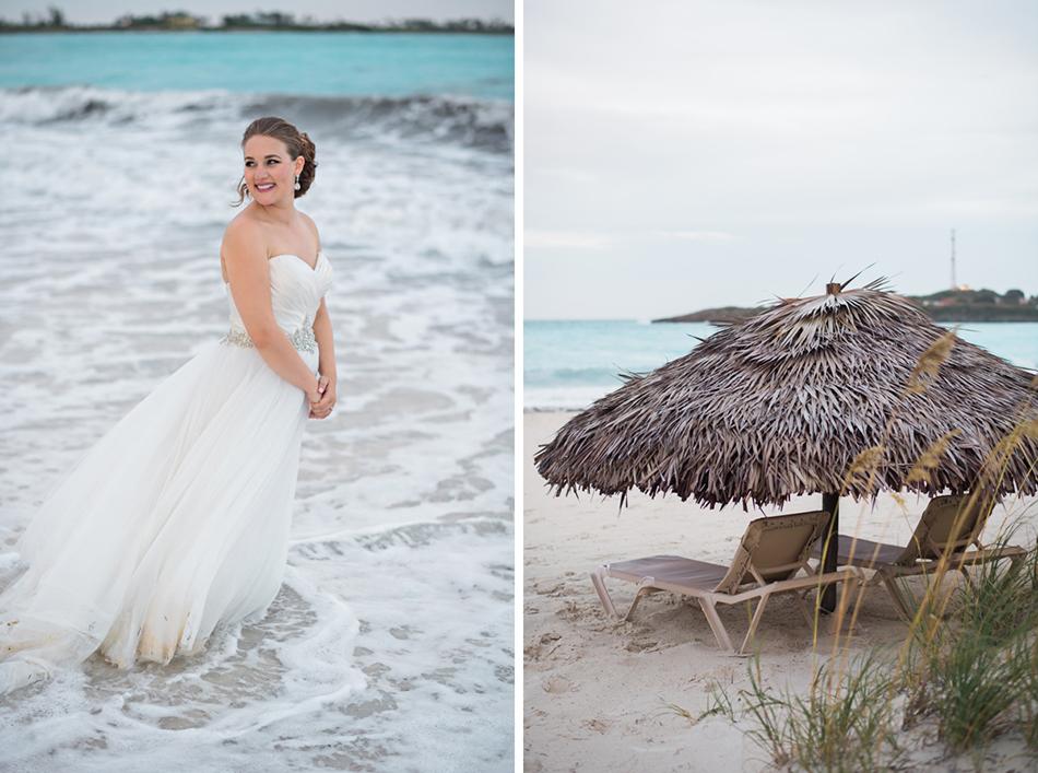 Bahamas wedding at Sandals Exuma