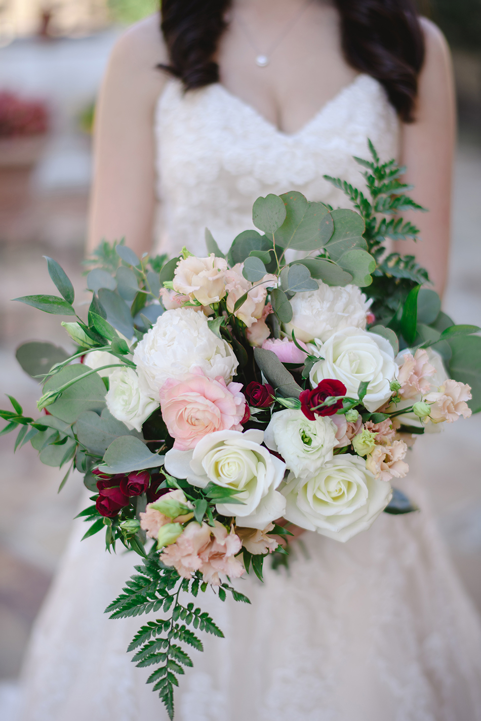 lush wedding bouquet