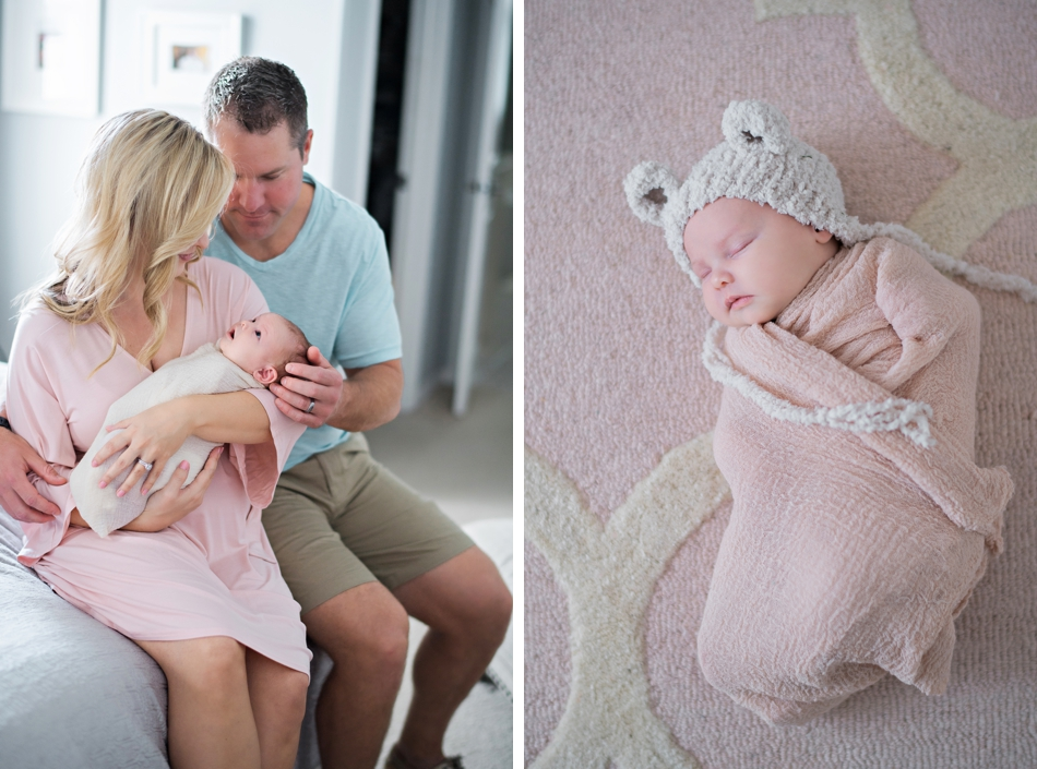 lifestyle newborn session in orlando florida by kristen weaver