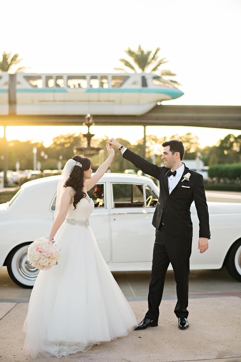 Fairytale Disney Wedding Of Jessica And Matt