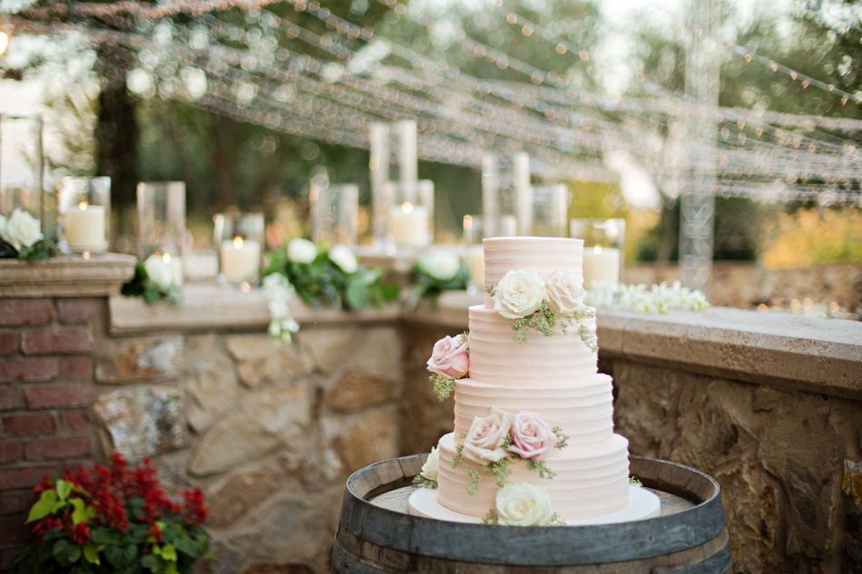 beautiful cake for southern wedding